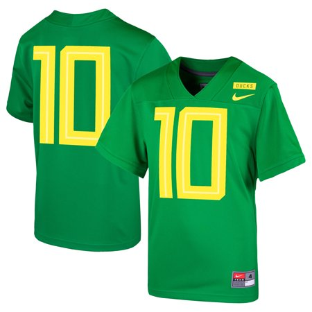 #10 Oregon Ducks Nike Toddler 2018 Replica Football Jersey - Apple Green ()