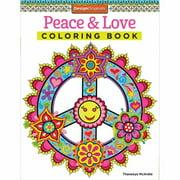 Design Originals-Peace & Love Coloring Book