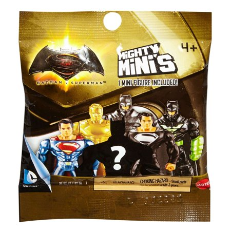 Batman V Superman Mighty Minis Figure Assortment (Styles May Vary) - Batman V Superman Suit