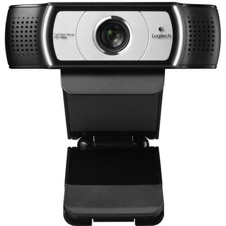 Logitech C930e Webcam - 30 fps - USB 2.0 - 1920 x 1080 Video - Auto-focus - 4x Digital Zoom