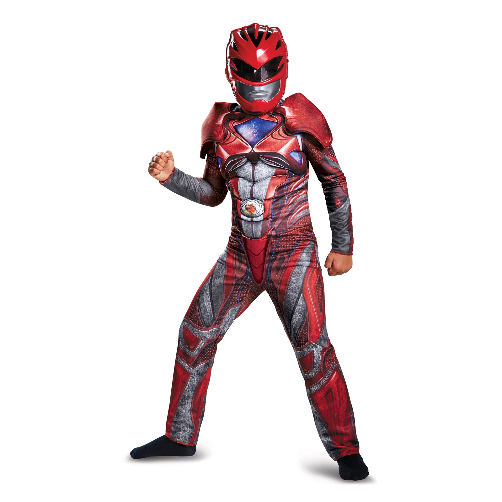 Power Rangers: Red Ranger Classic Muscle Child Costume by DISG