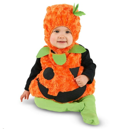 Plush Belly Pumpkin Infant Costume - Infant Pumpkin Costumes