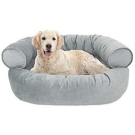 Arlee 59 40093bnl Orthopedic Dubbo Micro Velvet Comfy Couch Pet Bed
