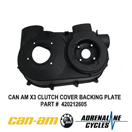 Can Am Maverick X3 XDS XRS CVT Air Guide Clutch Back Plate Cover OEM NEW #420212505 ()
