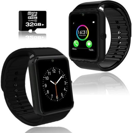Indigi  Gt8 Bluetooth 2 In 1 Smartwatch   Phone W  Pedometer   Sleep Monitor   Camera W  32Gb Microsd Included