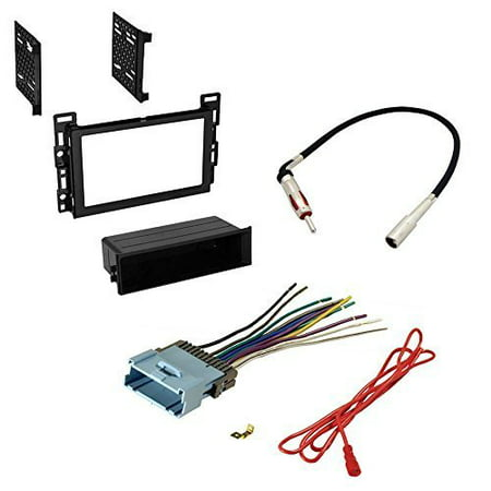 pontiac 2006 torrent car stereo radio cd player receiver install mounting kit radio