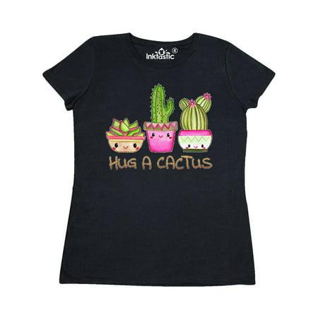 Hug a Cactus- cute Women's T-Shirt