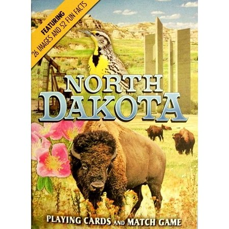 North Dakota Souvenir Playing Cards ()