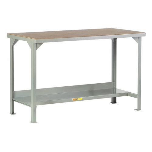 Little Giant USA Welded Steel Hardboard Top Workbench