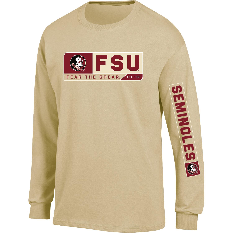 Men's Russell Gold Florida State Seminoles Team Long Sleeve T-Shirt