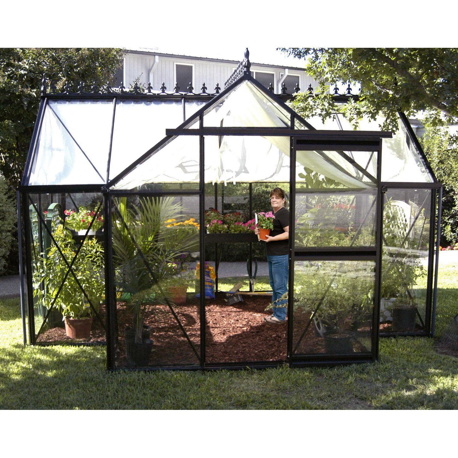 Janssens Junior Orangerie 13 x 10.25-Foot Greenhouse by Exaco