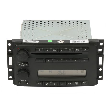 05-07 Chevrolet Uplander Saturn Relay AM FM Radio CD Part Number 15806261 US8 - Refurbished