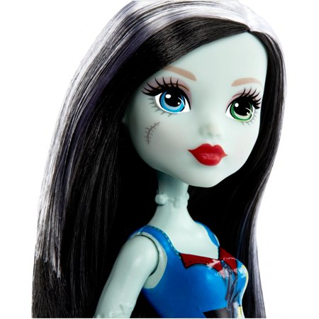 Monster High Frankie Stein 12-inch Doll with Striped