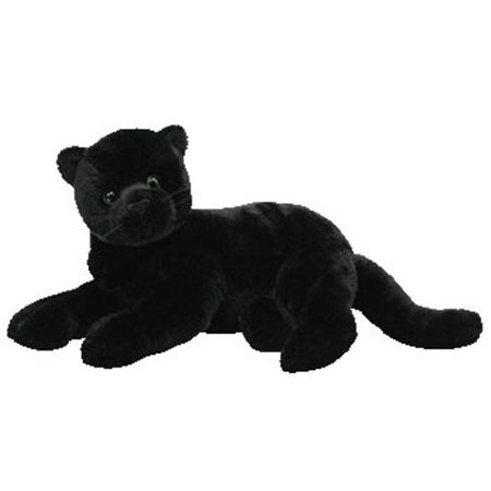 Black Panther Stuffed Animal (TY Classic Plush - ZEPHYR the Black Panther (14 inch))