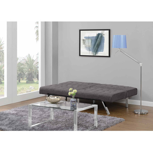 DHP Emily Convertible Futon Sofa Couch Multiple Colors Walmartcom