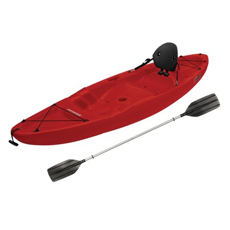 - Sun Dolphin Patriot 8.6 Sit-On Kayak Red, Paddle Included
