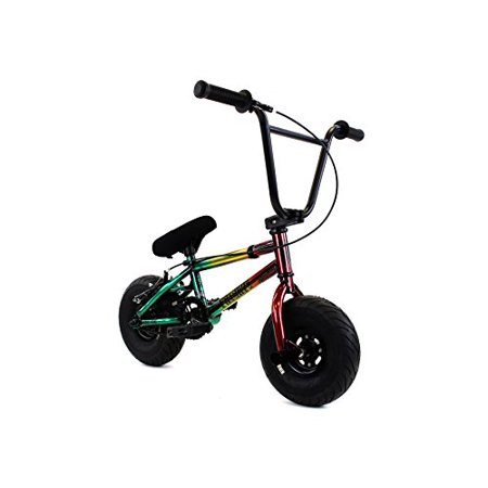 Fatboy Mini Bmx Bicycle Freestyle Bike Fat Tires Rasta Assault