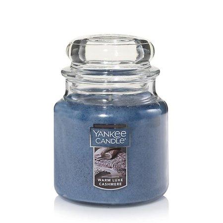 Yankee Candle Housewarmer Warm Luxe Cashmere Medium Classic Jar Candle