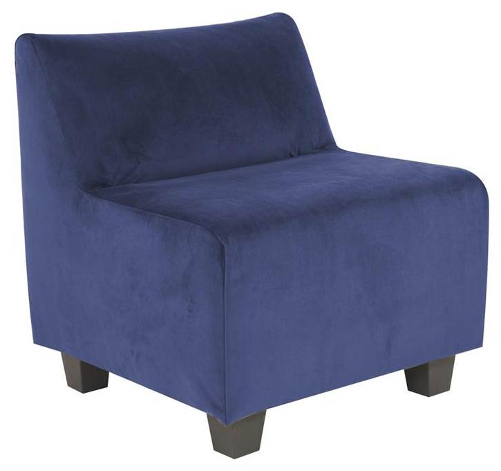 Accent Pod Chair in Royal Blue by Howard Elliott Collection