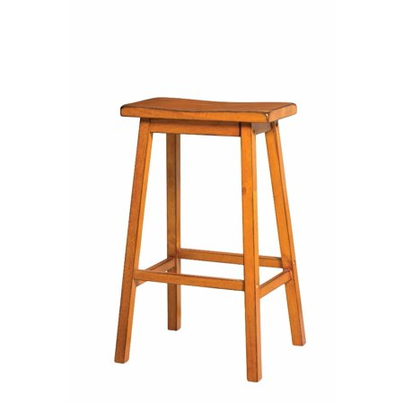 Wooden Bar Stool (Set-2), Antique Oak ()