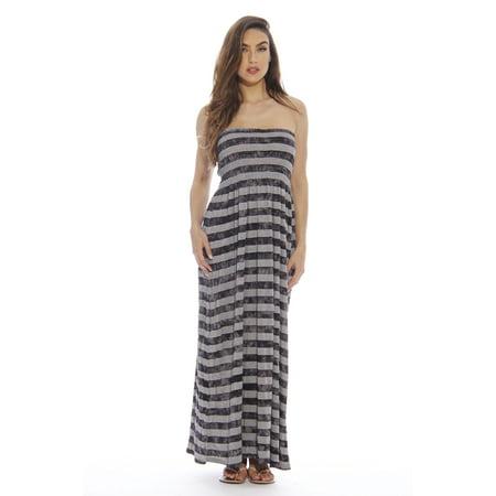 b39922fbe41 Just Love - Plus Size Maxi Dress   Summer Dresses for Women (Black ...