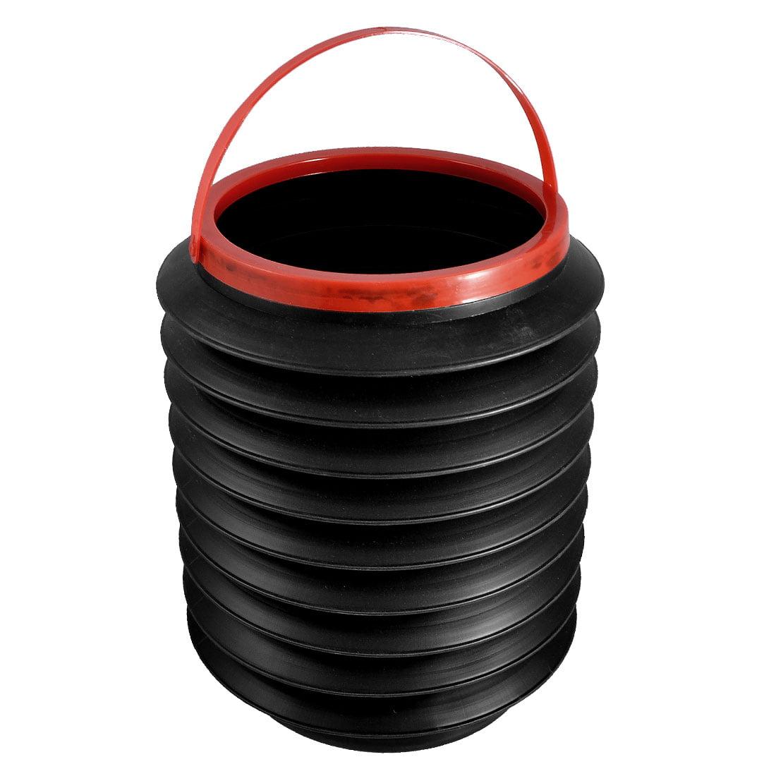 Car Auto Multifunctional Container Plastic  Trash Bin Storage Bucket