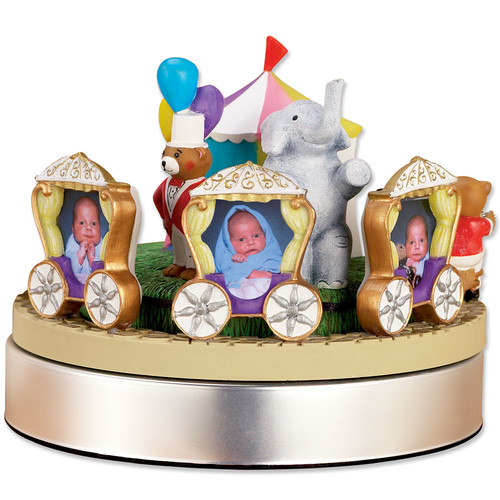 Lawrence Frames Wind Up Musical Circus Train Picture Frame