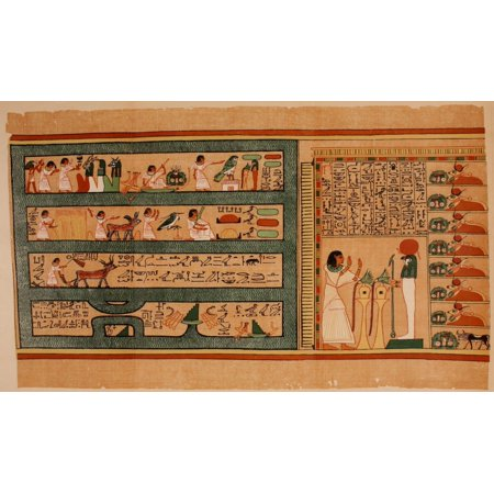 Ancient The Papyrus of Ani 1913 32 Poster - Adult Ani