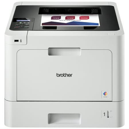 Brother HL-L8260CDW Wireless Business Duplex Color Laser Printer, 33ppm Black/Color, 2400x600 dpi, 300 Sheet Standard Input Tray