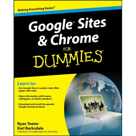 Google Sites and Chrome For Dummies - eBook