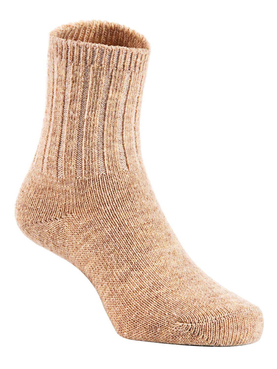 Lovely Annie Baby Toddler Children 4 Pairs Wool Tube Socks Solid 4Y-6Y(Random Boy Color)