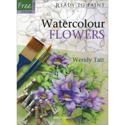 Search Press  Books-Watercolor Flowers