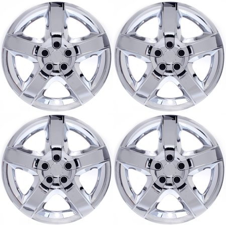 """Cover Trend (Set of 4) CHROME 17"""" Inch Hub Caps fits CHEVY"""