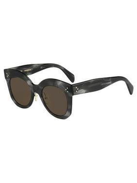 ae930e7278bd1 Product Image Celine CE 41443 Sunglasses 00GQ Havana Gray