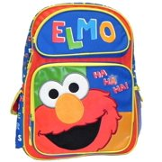 Backpack - - Elmo Ha Ha Ha Large School Bag New 054568