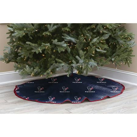 NFL Licensed Logo Christmas Tree Skirt, Houston Texans - NFL Licensed Logo Christmas Tree Skirt, Houston Texans - Walmart.com