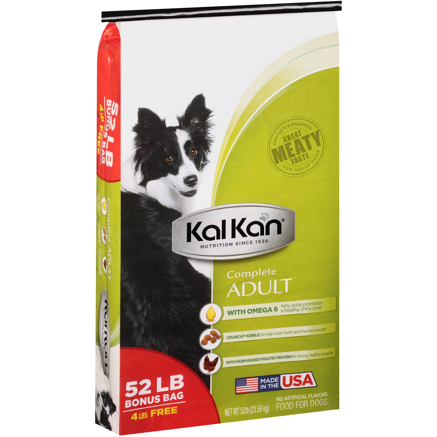 Kal Kan174 Complete Adult Dog Food 52 Lb Bag Walmartcom