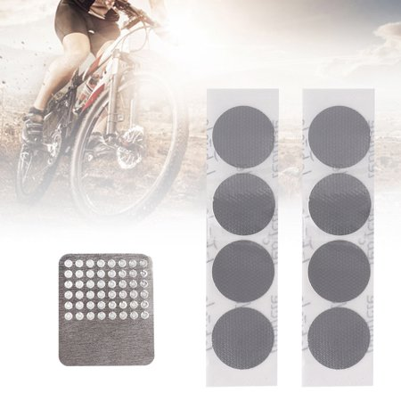 Ustyle 8pc/set Mountain Bike Road Cycling Quick Drying Tire Inner Tube Repair Patch Bicycle Wheel Puncture Repair Sticker - image 6 de 8