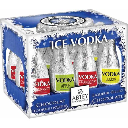 Abtey Iced Vodka 12 Piece Cocktail Chocolates - 110g/3.81 - Simple Halloween Cocktails With Vodka
