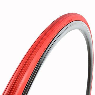 vittoria zaffiro pro home trainer fold tire (red, 700 x 23)