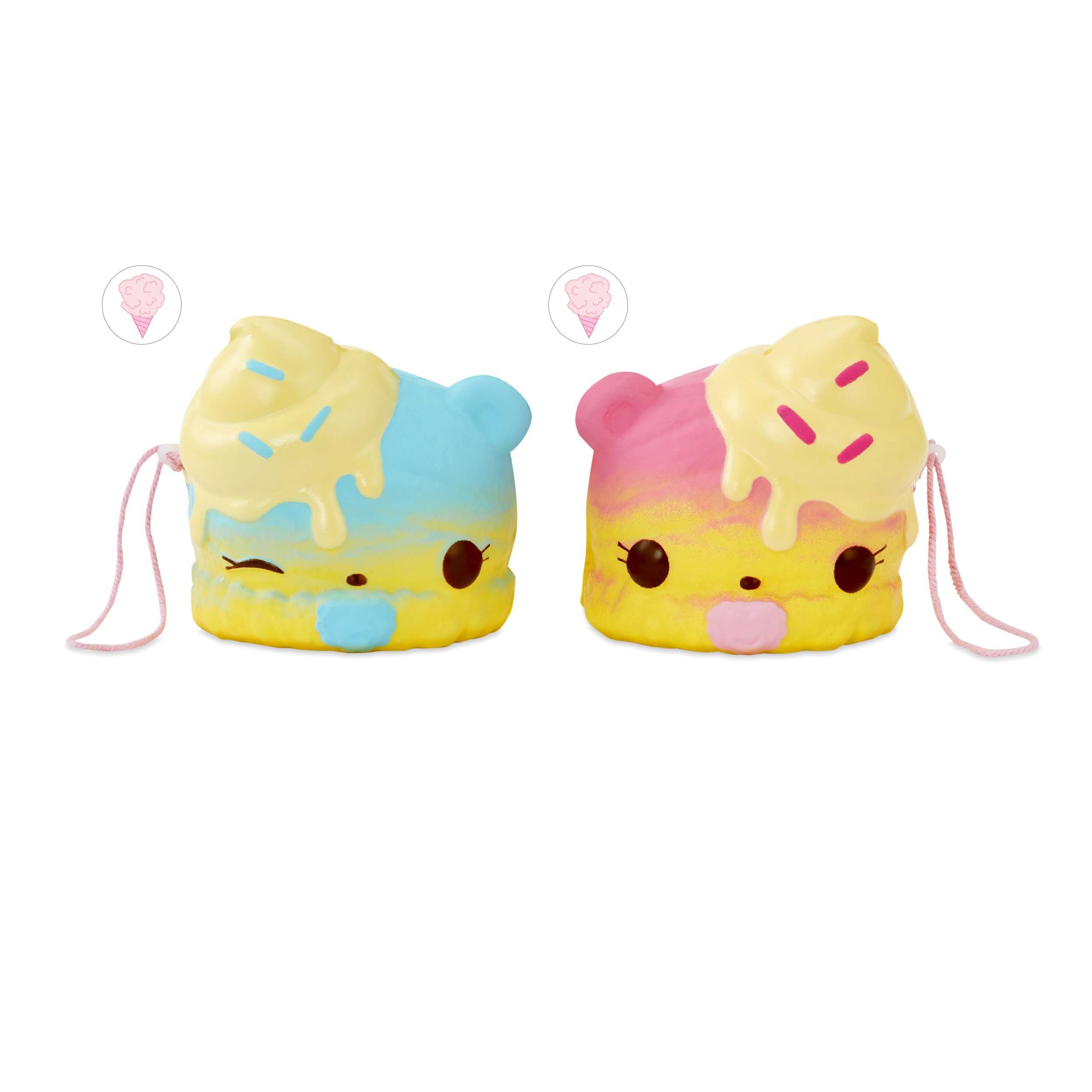 Num Noms Smooshcakes Twin Pack with Collectible, Slow Rise Characters