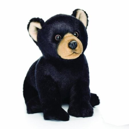 Nat and Jules Black Bear Plush Toy, Small