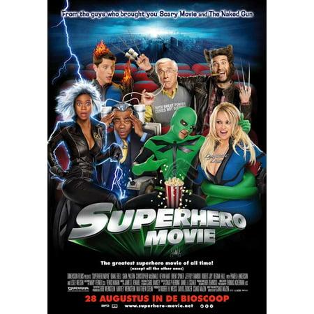 Superhero Movie POSTER Movie B (27x40) (Superhero Wedding)