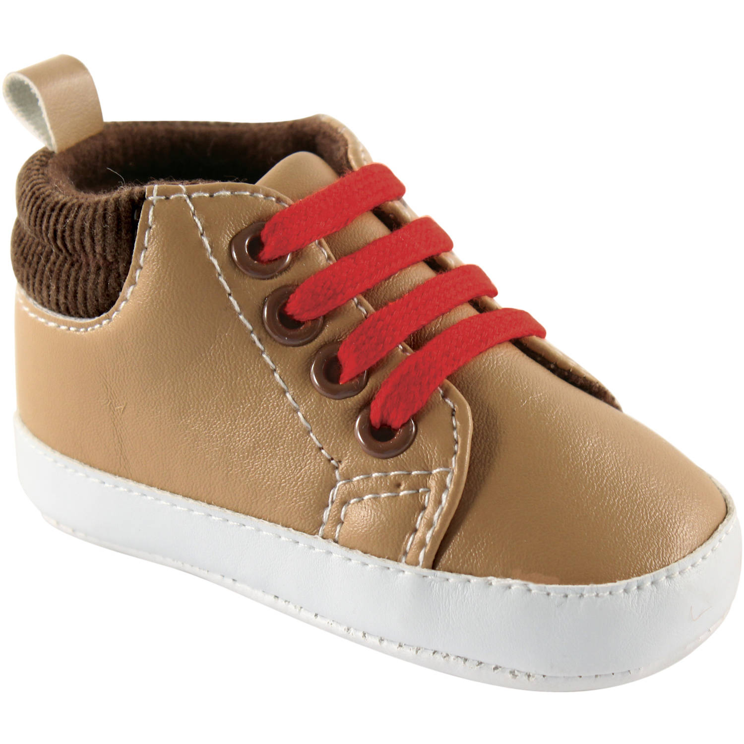 Luvable Friends Newborn Baby Boys High-Top Boots