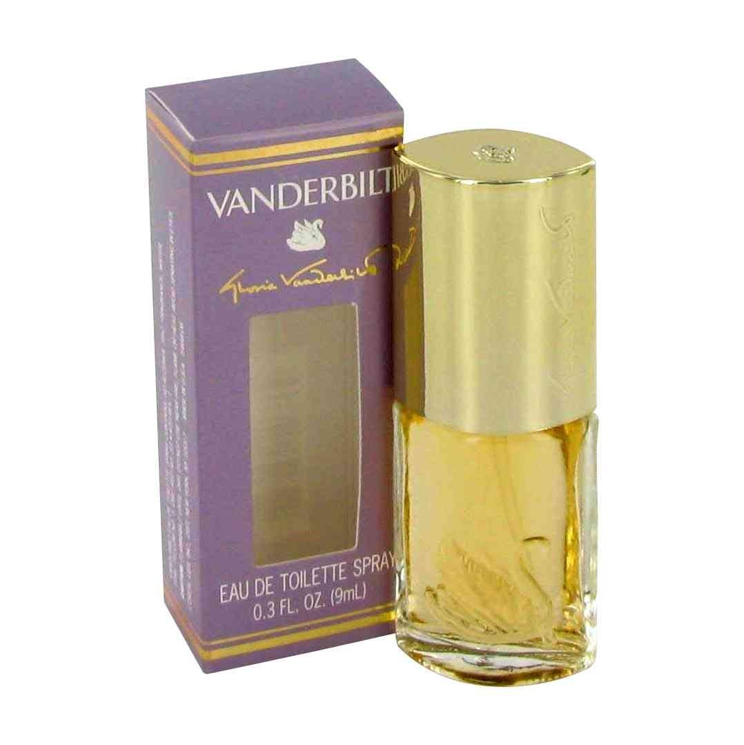 VANDERBILT by Gloria Vanderbilt 9 ML 0.3 oz EDT spray Womens Mini Perfume NIB