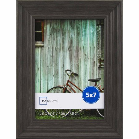 - Mainstays Vintage French Gray 5x7 Picture Frame