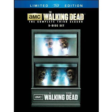 The Walking Dead  The Complete Third Season  Blu Ray   Limited Edition