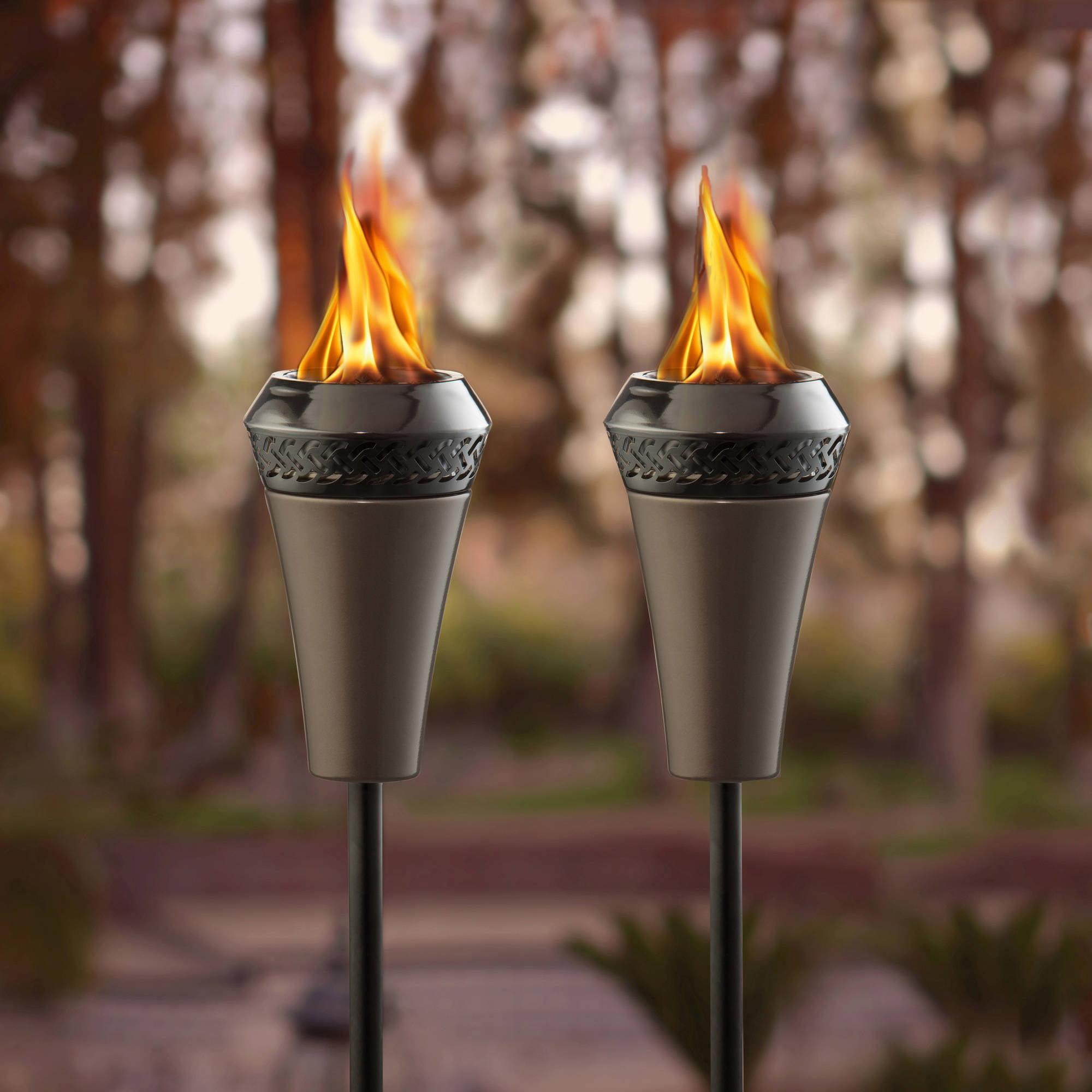 TIKI Brand Island King Large Flame Torch Gun Metal by Generic