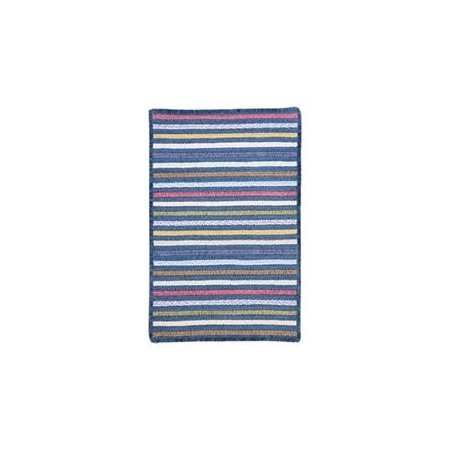 Colonial Mills Seascape Morning Dew Striped Area Rug