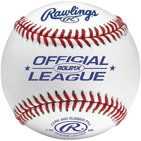 American League Official Baseball - Rawlings ROLB1X Official League Practice Ball - (12 Baseballs)